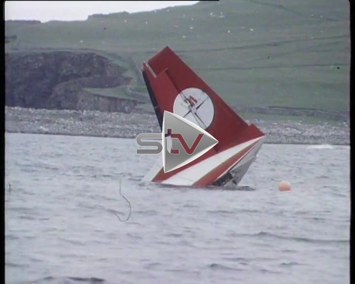 Shetland Plane Crash