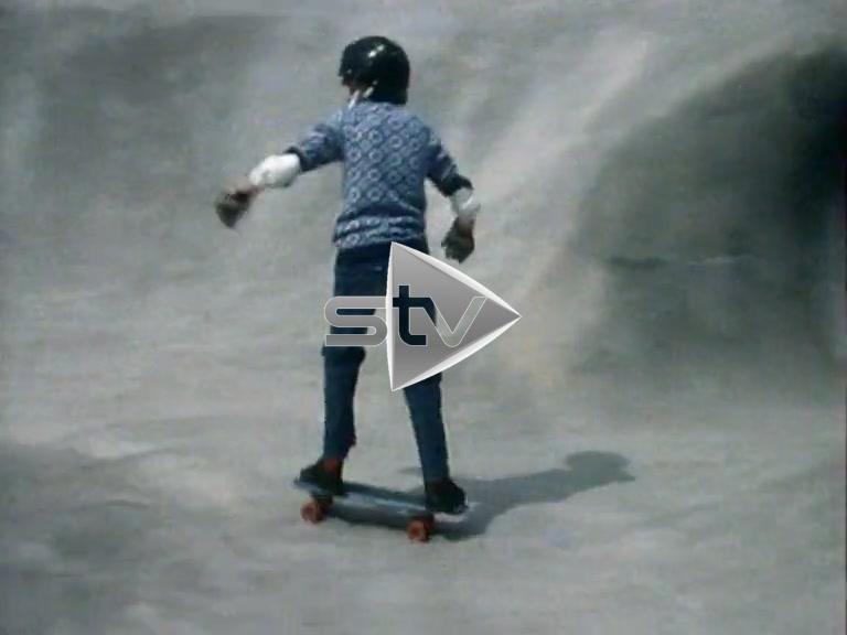 Early Skateboarders in Livingston