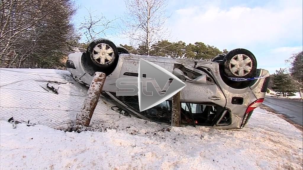 Snow Dangerous Driving