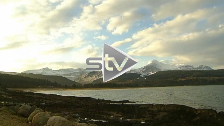 Snow Covered Mountains on Arran