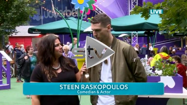 Steen Raskopoulos at Edinburgh Fest 2016