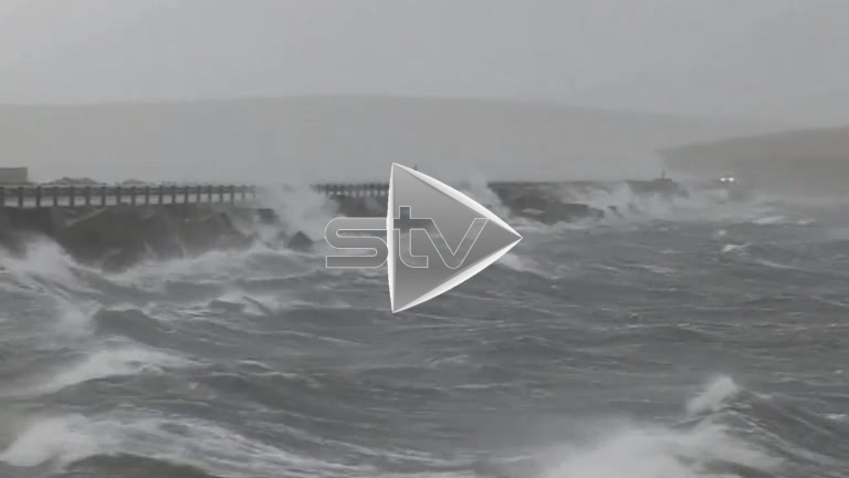 Stormy Weather in Orkney