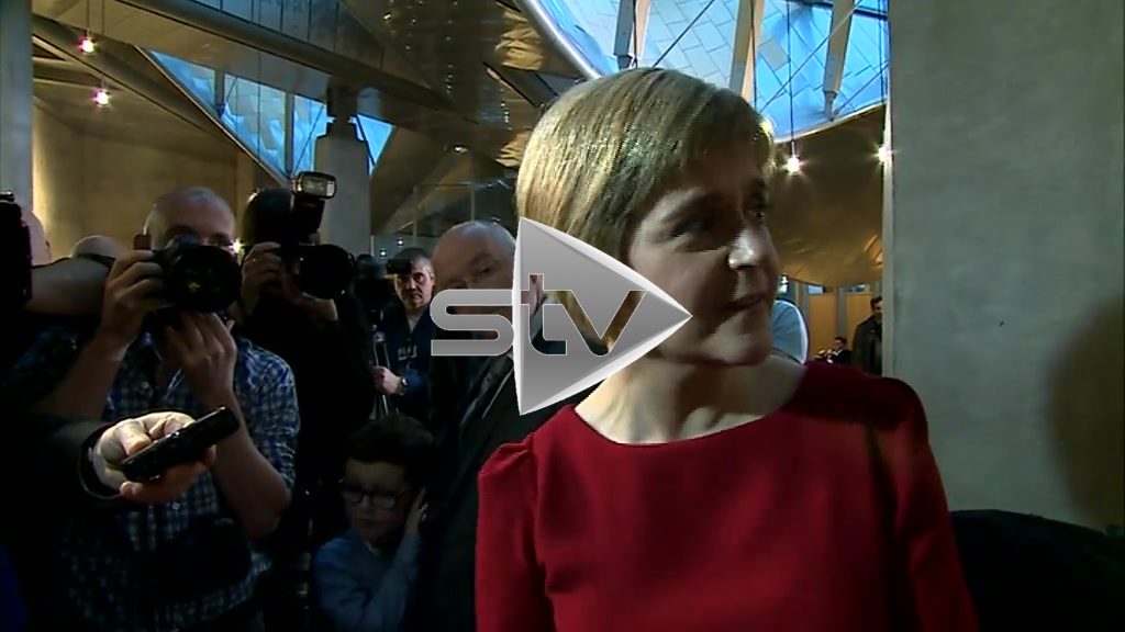 Sturgeon Elected First Minister of Scotland
