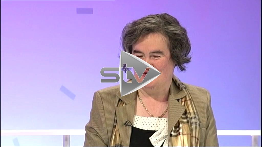 Susan Boyle Interview After BTG Audition