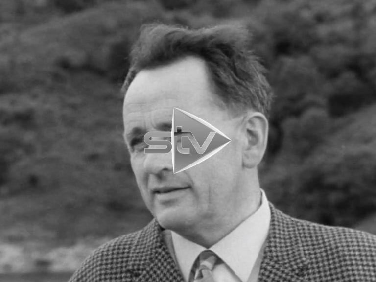 Glen Finglas Dam 1966