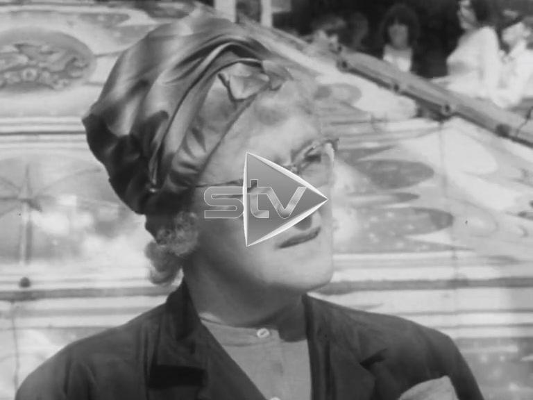 """Elderly """"Fun City"""" Worker 1966"""