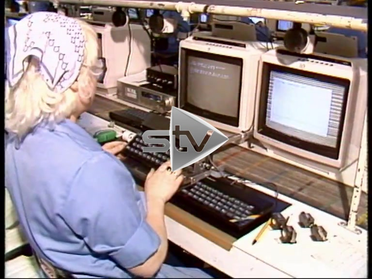 Timex Plant Dundee 1983