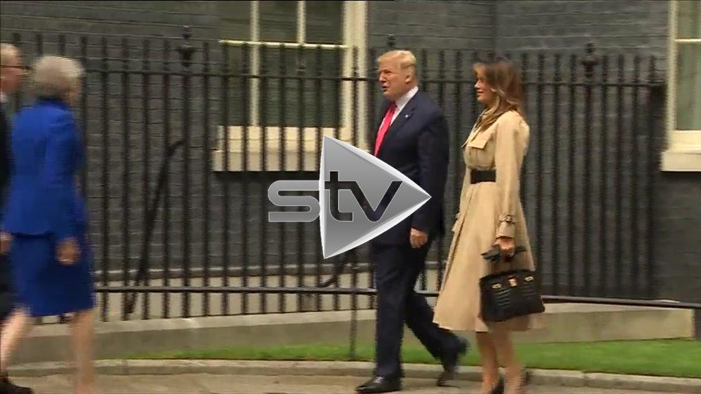 Trump at Downing Street