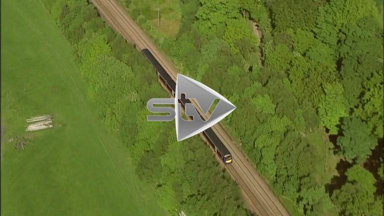 HD Aerials Trains passing