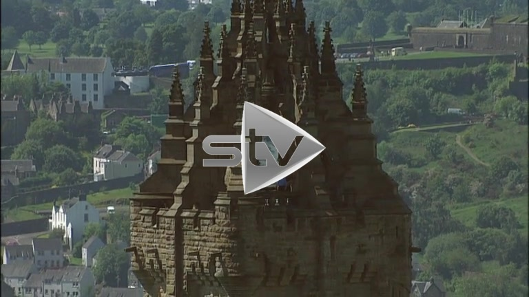 HD Aerials of Wallace Monument