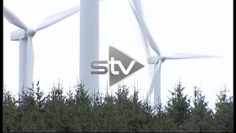 Wind Turbines and Pylons