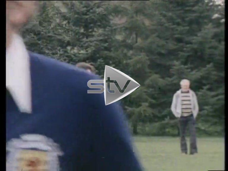 Rod Stewart Trains with Scotland's 1978 World Cup Squad