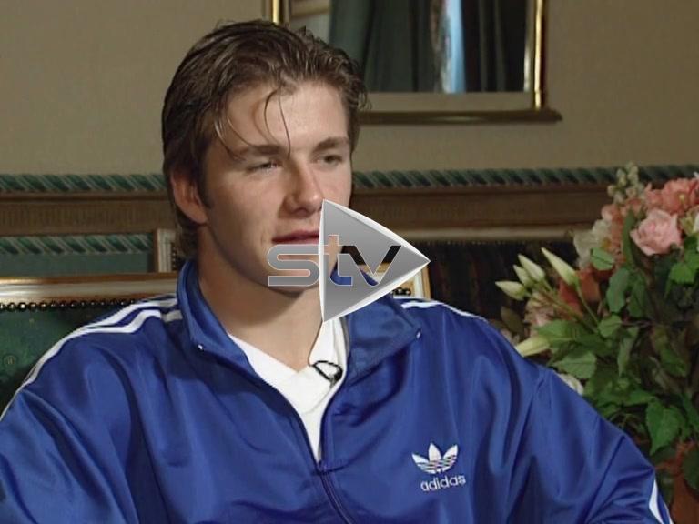 David Beckham Interviewed by Jim White